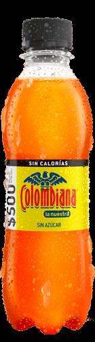 Etiquetado Colombiana Cero Postobón