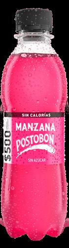 Etiquetado Manzana Sin Calorias Postobón