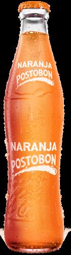 Etiquitado Naranja Postobón