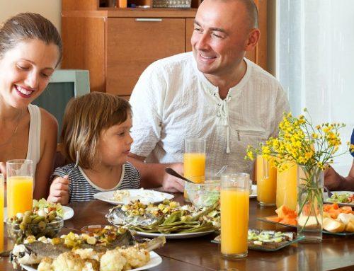 ¿Por qué es importante establecer horas para comer?