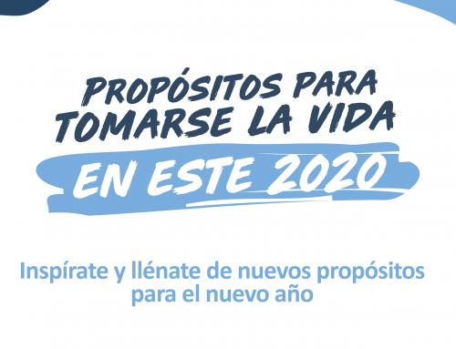 Propósitos para tomarse la vida en este 2020