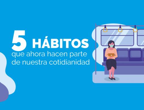 5 hábitos que ahora hacen parte de nuestra cotidianidad