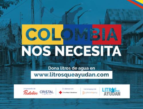 Colombia nos necesita, es momento de ayudar