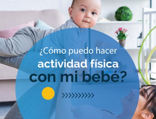 ¿Cómo puedo hacer actividad física con mi bebé?